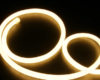 round neon light